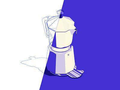 Coffee Time logo icons branding the creative pain illustrator illustration vector coffee