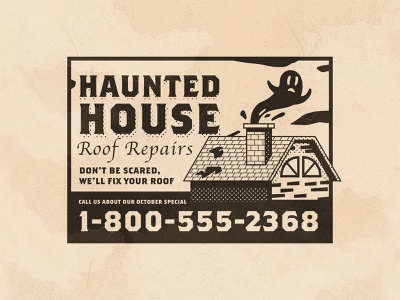 Day 13: Roof haunted house spooky roof inktober icons branding the creative pain illustrator illustration vector