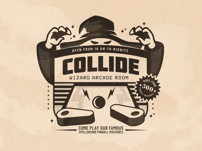 Day 17: Collide inktober collide branding the creative pain illustrator illustration vector
