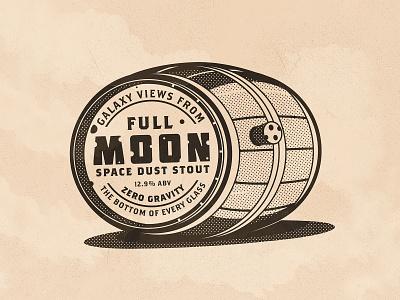 Day 18: Moon inktober moon the creative pain illustrator illustration vector