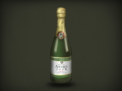 Andre 3000 Champagne emoji