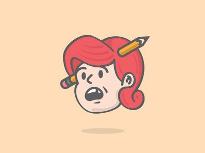 Pencil Head 19