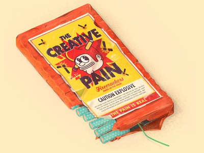 The Creative Pain Firecrackers
