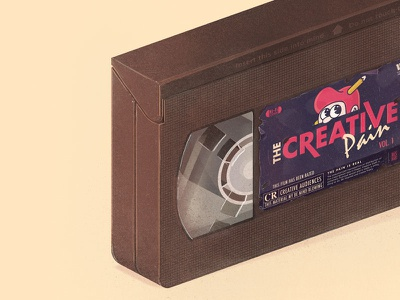 The Creative tapes Vol. 1 vintage retro tapes vcr workout vhs creative pain