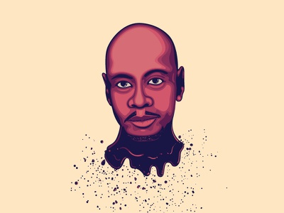 Dave chappelle vector illustrations dave chappelle