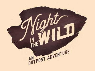Night In The Wild spear type rocks arrow hed wild night mountians outpost nature