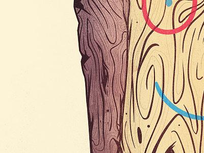 Stoned Faced illustration cartoons cartoonnetwork ed ed eddy plank wood
