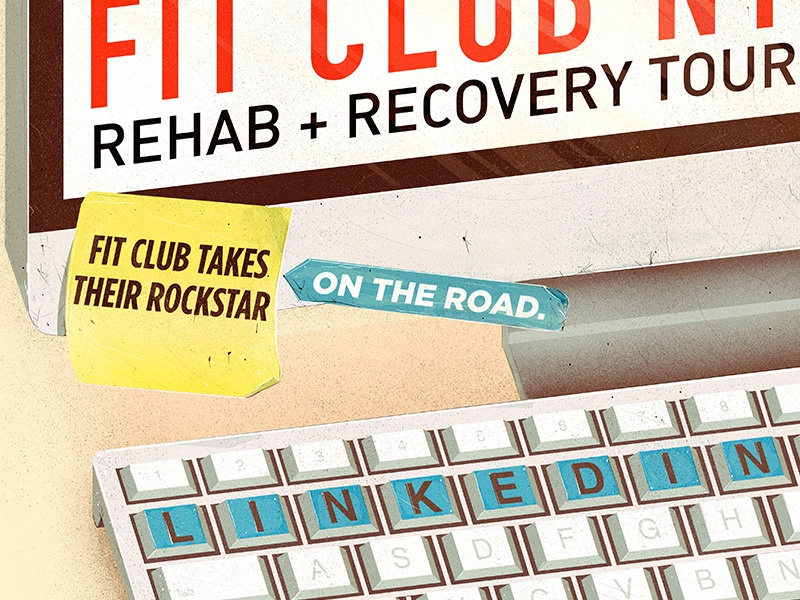 Recovery Tour take 3 on the road fit club tour recovery rehab linkedin building ny