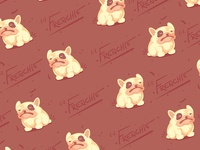 Lil frenchie Pattern