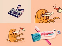 XXX, Jake, toothpaste