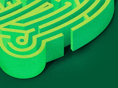 Just working through it texture green maze lines vector illustrator the creative pain illustration