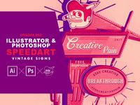 Illustrator & Photoshop speedart ep.002