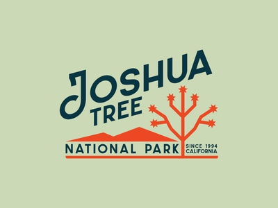 Joshua Tree Apparel Design textured camping goodtype vintage design vector outdoors illustration apparel typography nature