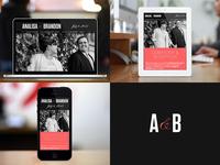 Responsive Wedding Website