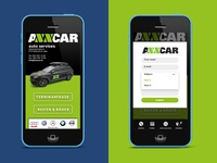 Vetica   Axxcar mobile ui