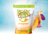 Yum Yum Juice | Orange You packaging design packaging identitiy logo illustration branding design