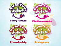 YumYum Juice   logos
