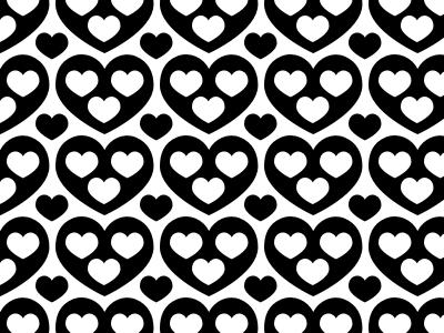 ❤︎ screenprint illustration pattern