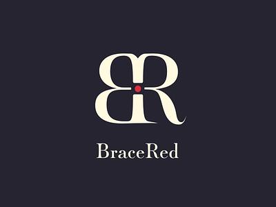 BraceRed Logo bracelet jewellery colors brand color bracered logo