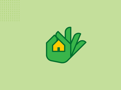 Real estate logo concept. house property auction real estate vector concept branding flat icon logo