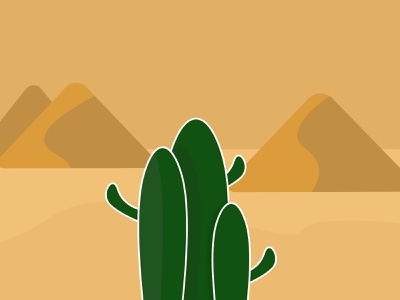 Cactus s Family vector illustration animation illustraion illustration art illustrations illustrator figma vector illustration