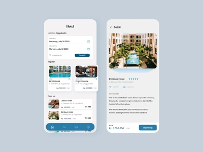 Hotel Booking Application - Explore designs uiux mobile app design mobile design desgin application design hotel booking mobile app mobile ui mobile uidesign ui  ux ui design application app design app ui figmadesign design figma