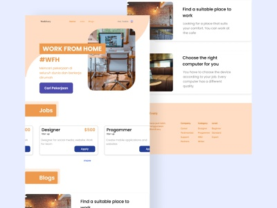 Website For Finding Jobs - Explore ui  ux uiux abstract design abstract website design web design website web uidesign ui design webdesign ui figmadesign design figma