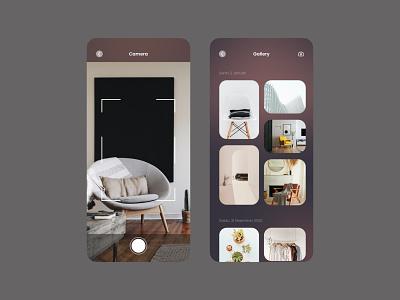 Photo Gallery - Dark Mode mobile app design designer uiux designer uiuxdesigner uiux design uiuxdesign mobile design mobile app mobile ui ui  ux uiux application app design uidesign ui design app ui figmadesign design figma