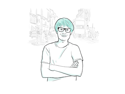 Persona for a storyboard character sketch persona storyboard