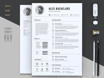 Creative Resume Template, Modern Resume Template professional resume creative design resume resume template cv design cv template