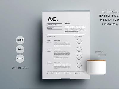 Resume Template 3 Page | CV Template design cv template professional resume resume template resume creative design