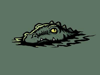 Swamp Thing dragon reptile lizard water character mascot cajun louisiana bayou monster swamp monster croc crocodile alligator gator swamp thing swampthing swamp