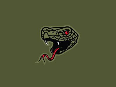 Diamondback Snake Head pit viper anaconda dragon viper hiss reptilian monster diamondback coils tongue fangs scales reptile rattler mascot snake