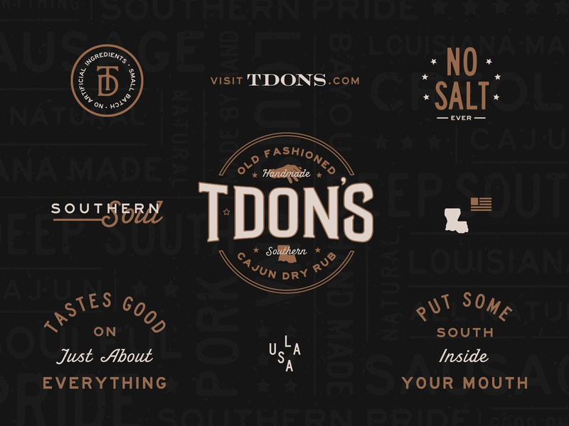 T·Don's Brand Identity & Elements