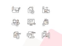 Flatup.io icons set