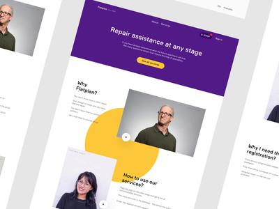 Main Page Design Concept