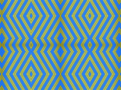 Lines / circles blue and yellow pattern V2 yellow blue lines circle geometric illustration design pattern