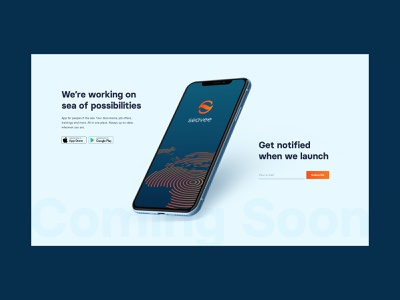 Seavee | Coming Soon design web website design website mobile app mobile webdesign uxdesign ux