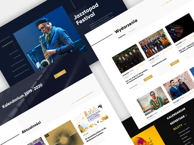 Narodowe Forum Muzyki | Website uidesign wireframes wireframing web website design website webdesign uxdesign ux