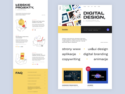Ficturo | Website typography web design illustration animation ux website design website webdesign uxdesign
