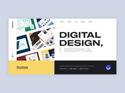 Ficturo | Website uidesign design web ux website design website illustration animation webdesign uxdesign