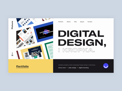 Ficturo | Website design uidesign typography ux web website design animation website webdesign uxdesign