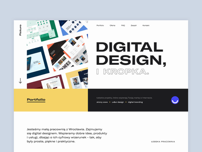 Ficturo | Portfolio vector ux typography website design web illustration animation webdesign uxdesign portfolio design portfolio