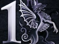 Forged Metal Dragon