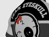 Team EYESKULL cycling jersey