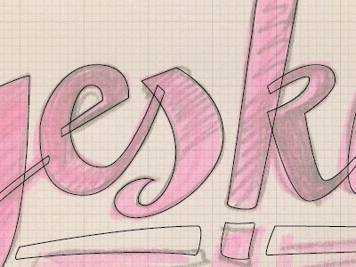 lettering hand type learning illustrator