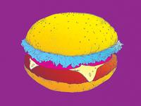 Burger Poster Sample