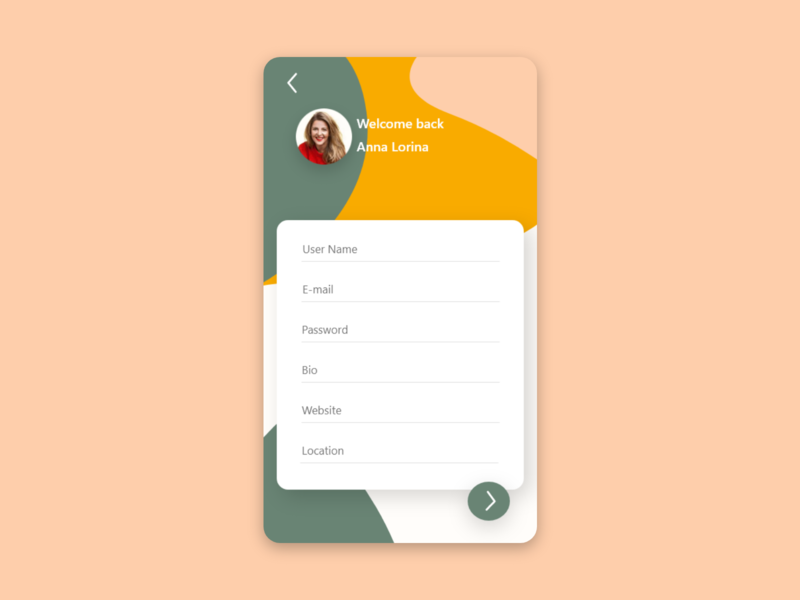 settings dailyui app web ui ux design