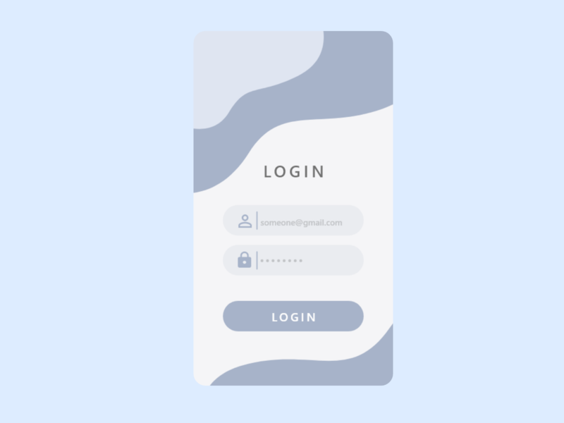 login form app ux dailyui ui design