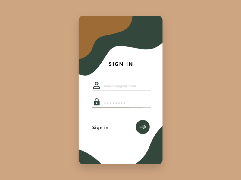 login form dailyui web ui ux design